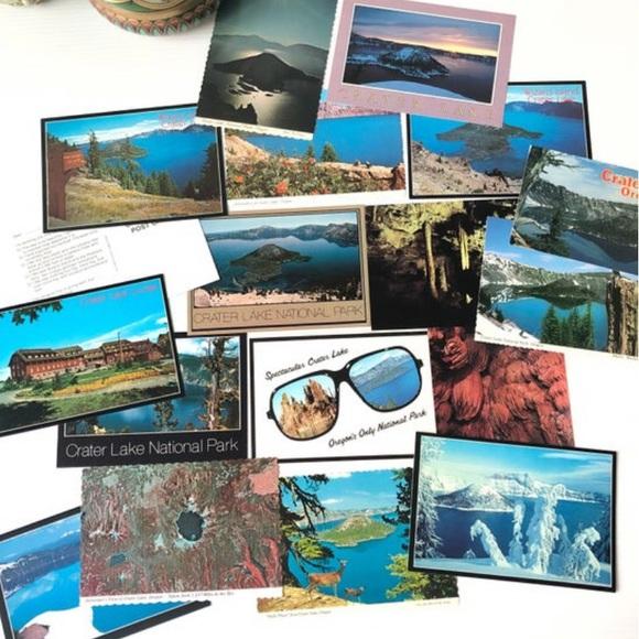 OREGON Postcards Crater Lake 18 Cards